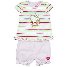 Baby Girls Wholesale Hello Kitty Striped Top And Shorts Set, 6 x £2.95