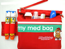 AllerMates Grab-and-Go Medicine Bag Auvi-Q ALLERGY EPIPEN CASE Asthma School