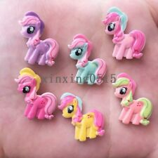 20pcs mix Resin hand-paint horse Flatback stone child scrapbook buttons crafts