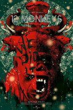 """La Jetee"" Variant Edition 12 Monkeys Nikita Kaun Lk Mondo Poster Blacklight Ink"