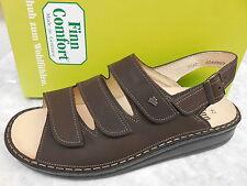 Finn Comfort Damen-Sandalen & -Badeschuhe mit Keilabsatz/Wedge für Kleiner Absatz (Kleiner als 3 cm)