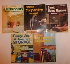 5 Lot Sunset DIY Books,Bookshelves,Cabinets,Garage, Bathroom,HomeRepairs,Carpent