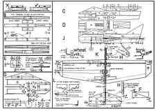 AEROSTAR PLAN Ligne de contrôle Stunt, mousse aile