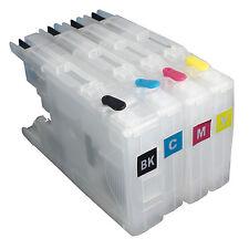 For Brother LC12 LC17 LC71 LC40 LC73 LC75 LC77 LC79 refillable ink cartridge V4
