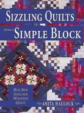 1999 Sizzling Quilts from a Simple Block Hot New Ideas for Woodpile Quilts Book
