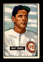 1951 Bowman #283 Walt Dubiel RC VGEX X1512106