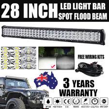 "PHILIPS 28INCH 1260W LED WORK LIGHT BAR SPOT FLOOD COMBO OFFROAD SUV ATV 30"""