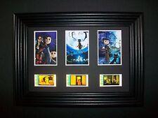 CORALINE Framed Trio Movie Film Cell Memorabilia - Compliments dvd poster