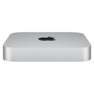 Apple Mac Mini Desktop Apple M1 8GB 256GB SSD Silver Late 2020 Model MGNR3LL/A
