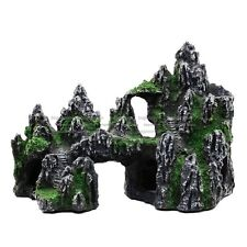 Large Aquarium Rockery Ornament DecorationsResin Mountain View Fish Hiding Cave