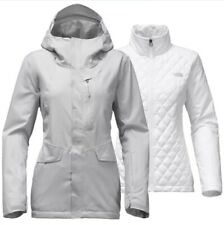 NEW NORTH FACE ThermoBall Snow Triclimate 3-in-1 Jacket Women's M Gray MSRP $349