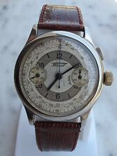 VINTAGE TISSOT CHRONOGRAPH MONOPUSHER CAL.33.3 (OMEGA) MENS 38mm JUST SERVICED