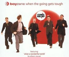 BOYZONE When The Going Gets Tough CD Single Polydor py940 1999