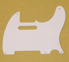 PG-0560-025 White Pickguard 1-ply 5-hole Vintage Style for Tele/Telecaster®