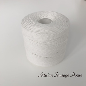 No 4 White Butchers Bakers Catering Twine String  Food Safe Certified Spool 300m