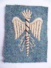 Insigne tissu 1914/1918 WWI Bleu Horizon ETAT MAJOR spécialité ORIGINAL PATCH