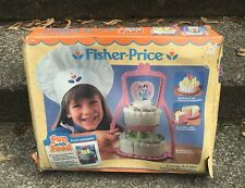 Vintage Fisher Create-A-Cake Wedding Birthday 1987 Fun With Food Bakery #2152