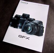 FUJIFILM GFX SERIES - Full Catalogue Brochure for the GFX 50S & Lenses. Fuji