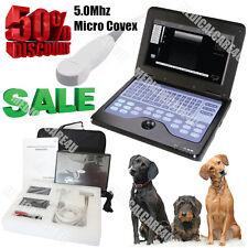 Contec USA Newest Veterinary Laptop Ultrasound Scanner Machine 5.0M Micro Convex