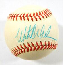Signed Mitch Williams Rawlings ONL Baseball Auto w/Box ~ Rangers