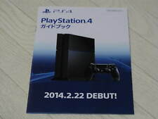 PS4 SONY JAPAN PROMO BOOKLET METAL GEAR SOLID V PHANTOM PAIN YAKUZA PSYCHO BREAK