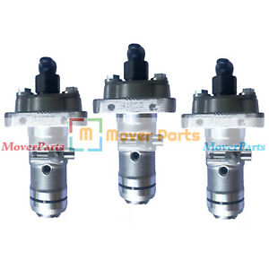 3PCS New Fuel Injection Pump for Isuzu 3LB1 3LD1 4LB1 4LE1 Engine