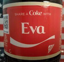 Share A Coke With Eva 2018 Personalized Coca Cola Vanilla Bottle
