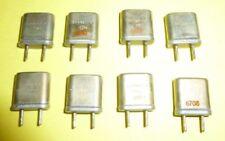 8x Quarz Kristall 3,6... Mhz  - 3,7... Mhz