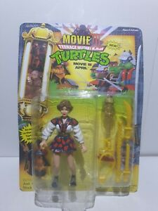 TMNT Teenage Mutant Ninja Turtles April o Neil Movie April 1992 kompl MOSC NEU