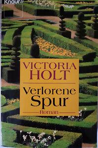 Victoria Holt: Verlorene Spur, 1 x mit Lesezeichen gelesen