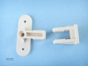 Pack of 4 Dummy Drawer Front Connector, Perma-Fix Brackets.