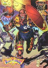 CARTE  NBA BASKET BALL 1993  FAMANIMATION THE WARRIOR (89)