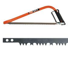 "BAHCO 21"" Wood Pruning/Bow/Hand/Tree Saw + FREE Green Raker Blade BAH33121FB"