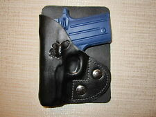 SIG SAUER P238 leather right hand, wallet and pocket holster