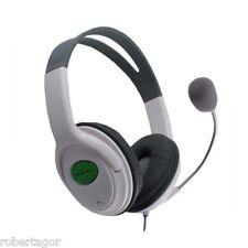 HEADPHONES AUDIO MICROPHONE HEADSET COMPATIBLE FOR XBOX 360 LIVE EARPHONE