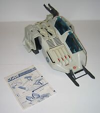 1987 GI Joe Cobra Wolf 95% complete w Blueprints No Figure GREAT COND