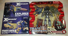 TRANSFORMERS - NEW Combaticons - Target Bruticus & Fansproject Crossfire Add-ons