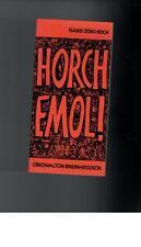 Hans-Jörg Koch - Horch emol ! - 1993