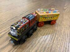 Thomas The Train Wood CELEBRATION SALTY engine + SODAR PARTY CONFETTI CAR