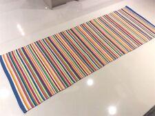 Bright Colour Funky Striped Handmade ECO Cotton Reversible RUNNER 70x200cm -33%