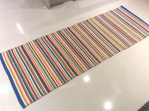 Bright Colour Funky Striped Handmade ECO Cotton Reversible RUNNER 70x200cm -33%
