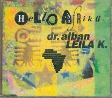 Dr. Alban Feat Leila K. - Hello Afrika 4 Tracks Cd Ottimo