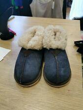 Kids Celtic&Co Sheepskin Bootie Slippers Size 7-8, BNWT, Colour: Blue