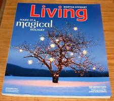 Martha Stewart Living Magazine December 2011 Winter Holidays Christmas Recipe