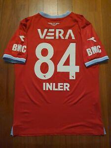 """20-21 Adana Demirspor Match Worn Shirt """" inler """" Udinese Napoli Leicester Zurich"""