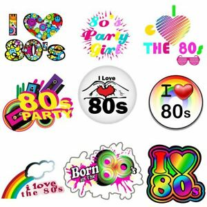 I Love The 80s vintage 80s Flash Back Iron On Heat T-Shirt Transfer 6021742 ®