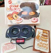Vintage 1977 Dazey Donut Factory w/Recipe Booklet & Box USED Heats Up