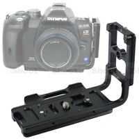 L-shaped Vertical Quick Release Plate Camera Bracket Grip for Olympus E600 E510