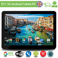 """10.1"""" Inch Android 7 Quad Core Tablet PC 16GB WIFI 3G Dual SIM GOOGLE CERTIFIED"""
