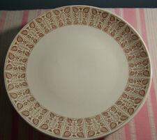 "6 Royal China Chantilly Sandlewood Dinner Plates 10 1/8"""